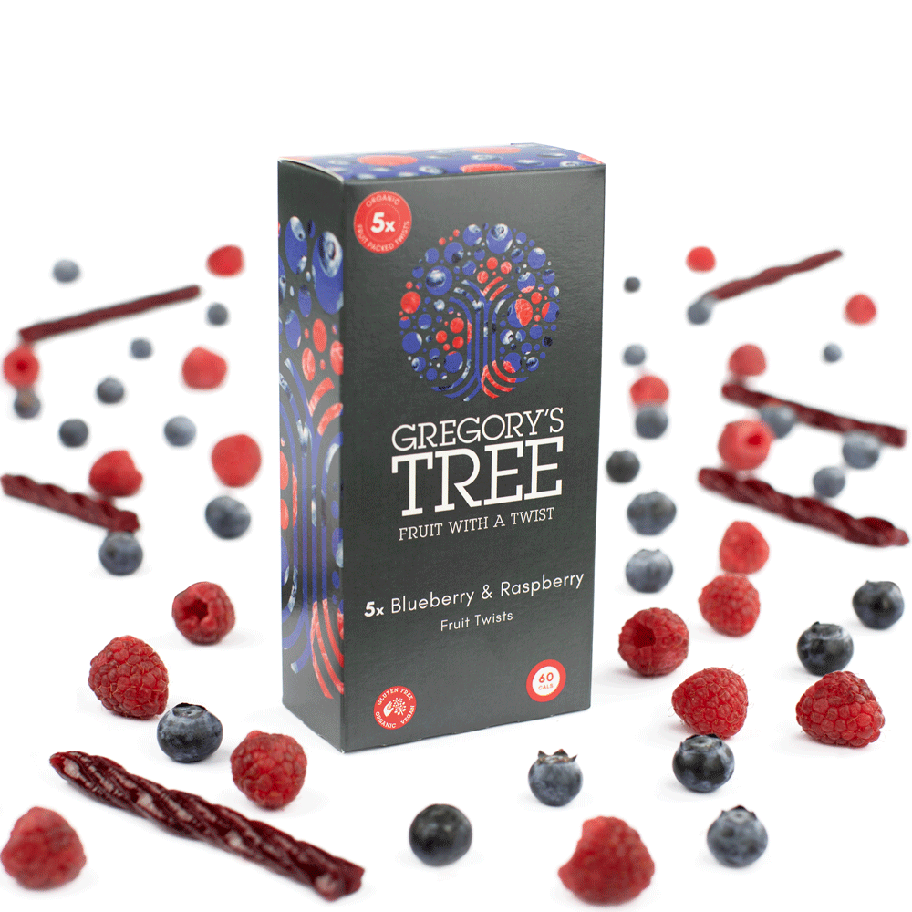 Gregory's tree multi pack with organic fruit and twists